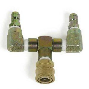 Dual-Gun Tee Coupler 8.902-421.0 4,000 PSI